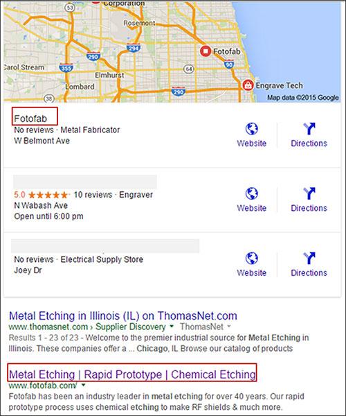 metal machining chicago il google local